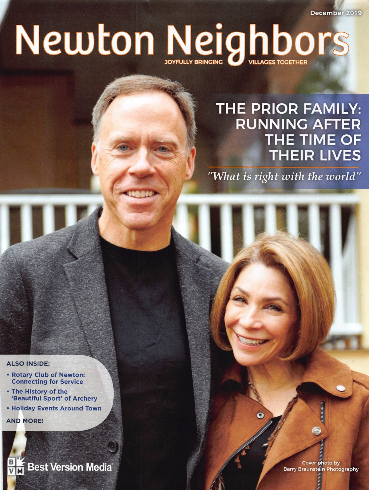 The Prior Family: Running After the Time of Their Lives